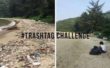 #Trash Tag Challenge