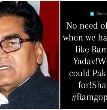 Ram Gopal Yadav Controversial Statement