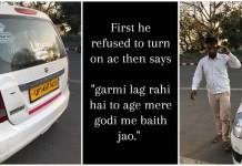 Uber Driver Misbehave