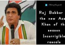 Raj Babbar sexiest remark on West Bengal CM