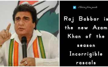 Raj Babbar sexiest remark on West Bengal CM