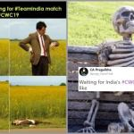 India fans waiting for World Cup Match