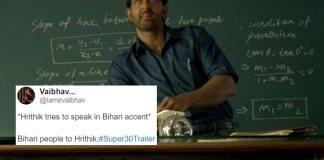 Super 30: Hrithik's Bihari Accent