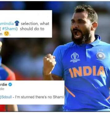 Fans question Shami absence