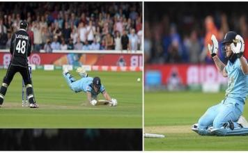 Overthrows won England World Cup (ICC Rules)