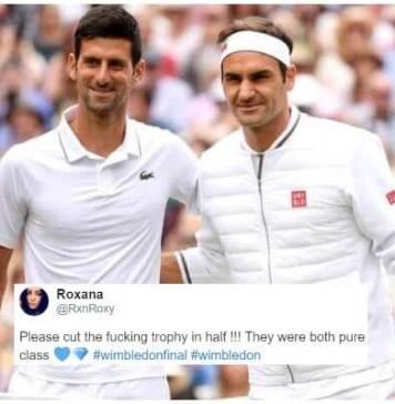 Wimbledon Finals: Roger Federer vs Novak Djokovic