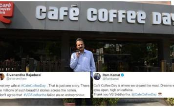 People Pay Tribute To VG Siddhartha By Sharing Their Favorite CCD Memories