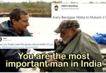 PM Narendra Modi 'Man Vs Wild' with Bear Grylls - AtrendHub