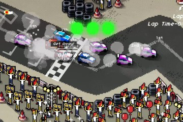 Super Pixel Racers screenshot (Xbox One)