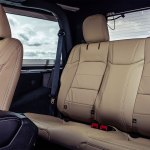 2019 Jeep Wrangler review: Rear leg room and tan leather