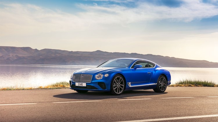 Bentley Continental GT review (2019): Static front three-quarters
