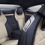 Bentley Continental GT review (2019): Rear seats and electric front seat controls