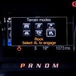 Ford Ranger Raptor digital dials
