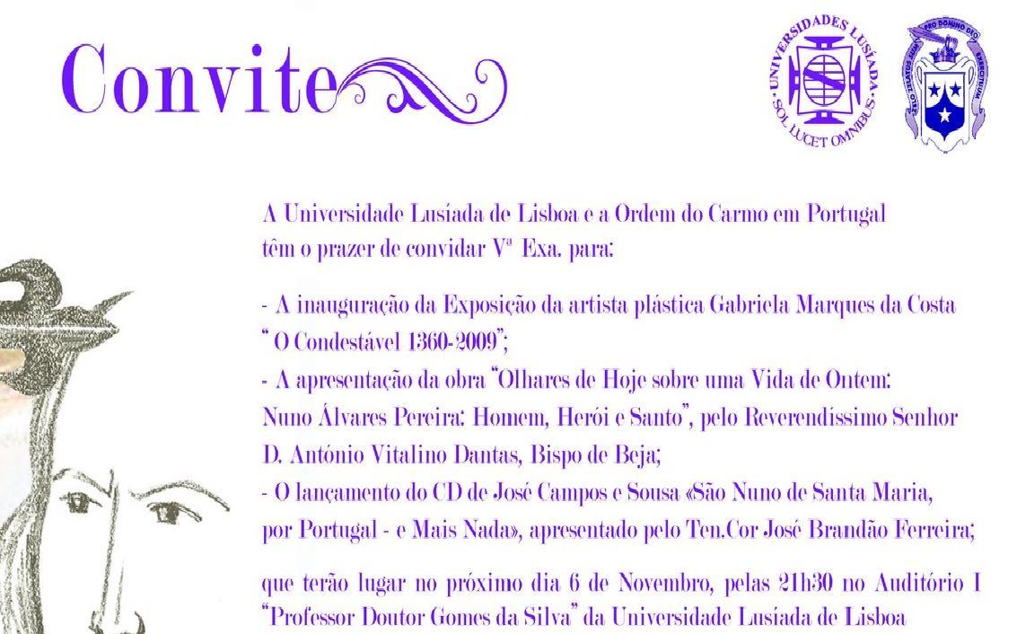 convite DNunoAlvPer
