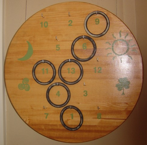 Ring Toss, Rings, Irish Ring Board, Championship Ring Board