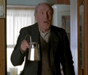 """Will ya have some coffee? Ya will, ya will, ya will.... Cappuccino?"""