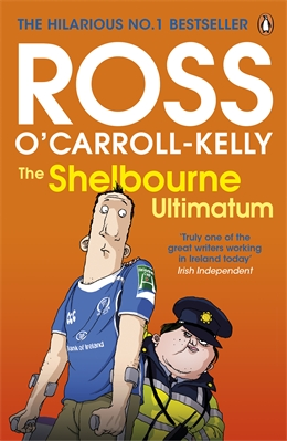 Ross O'Carroll-Kelly nails the excesses of new money Ireland in his satirical novels, and nails the speech patterns of everyday Dublin, including the swearing, to hilarious effect.