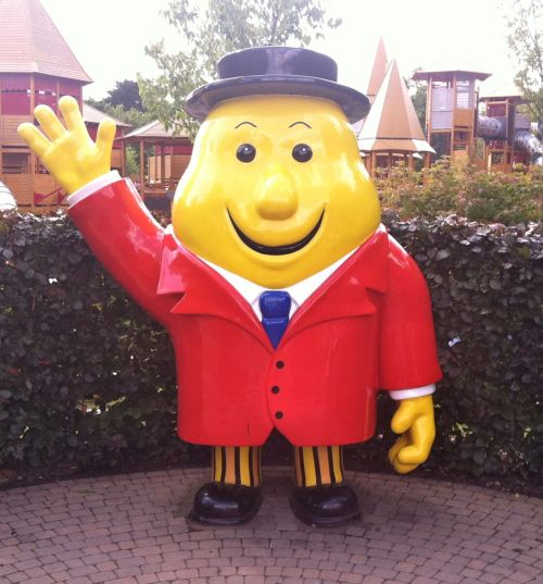 Mr. Tayto, the mascot/logo of Tayto Crisps