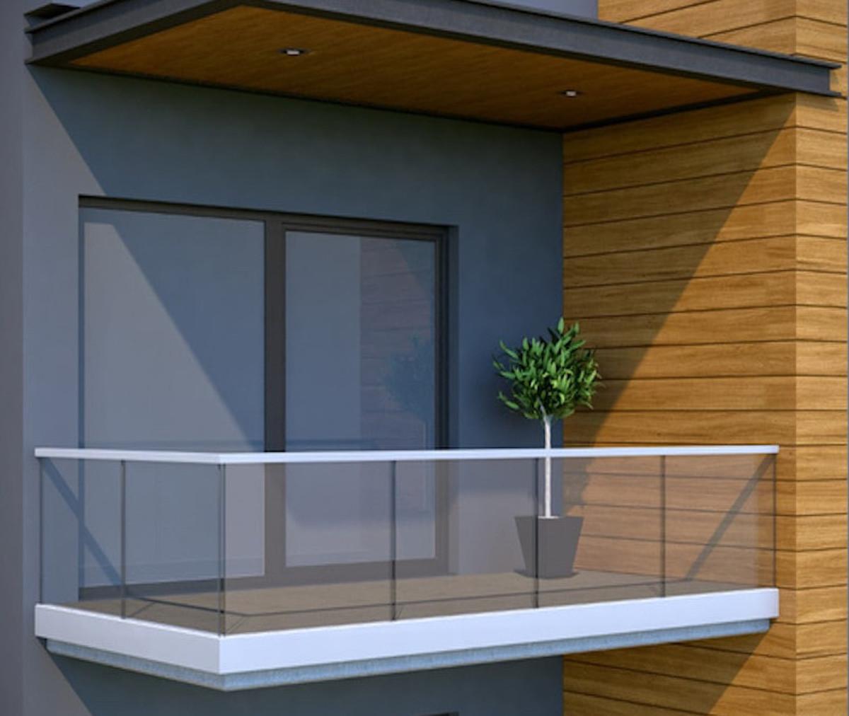 garde corps verre et aluminium delos 4 atrium concept