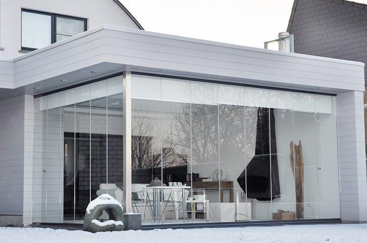 rideau de verre panoramique vitrage
