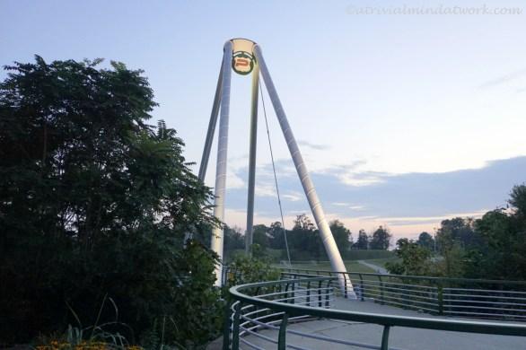 The Plainfield Pedestrian Bridge