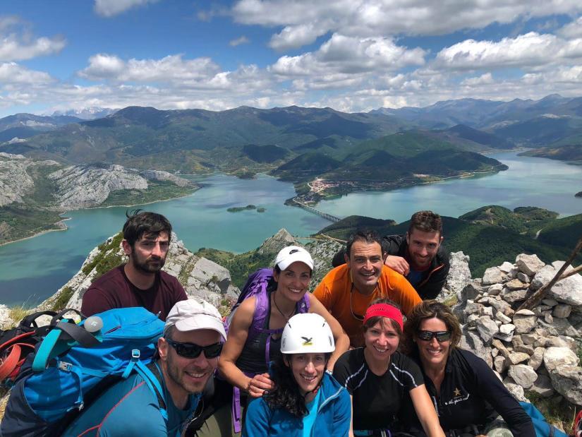 Grupo en la Cumbre del Gilbo
