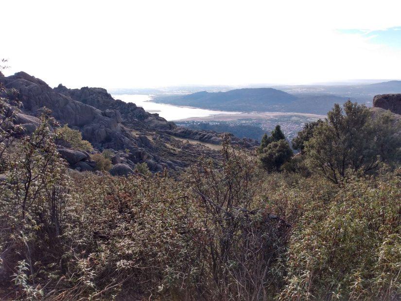Vistas del Pantano de Santillana