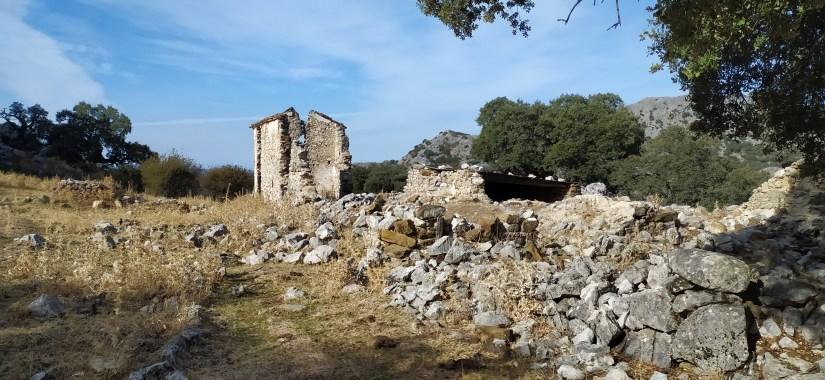 Refugio derruido de Grazalema