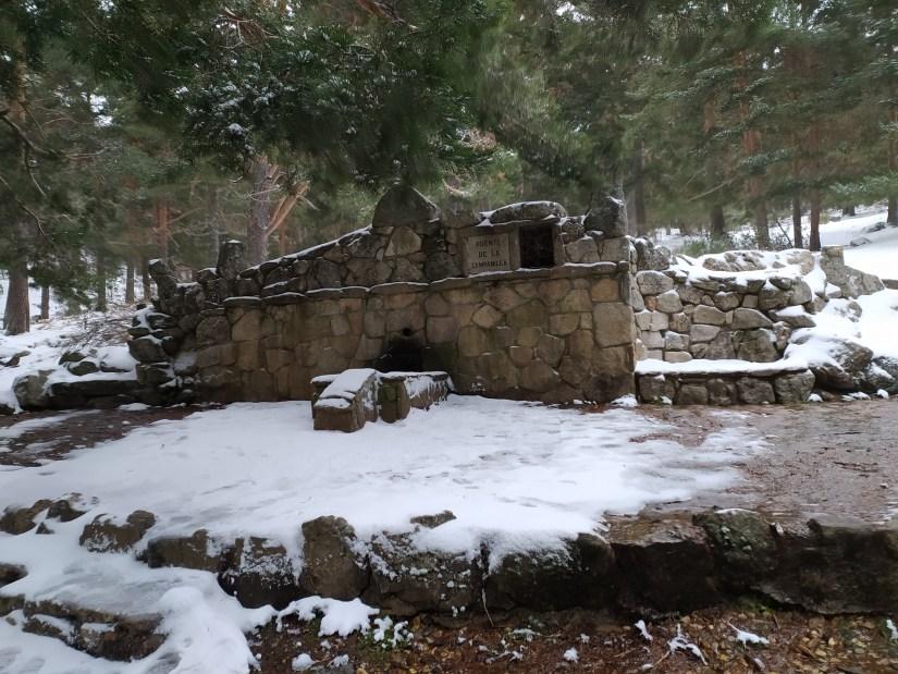 Fuente de la Campanilla en la ruta