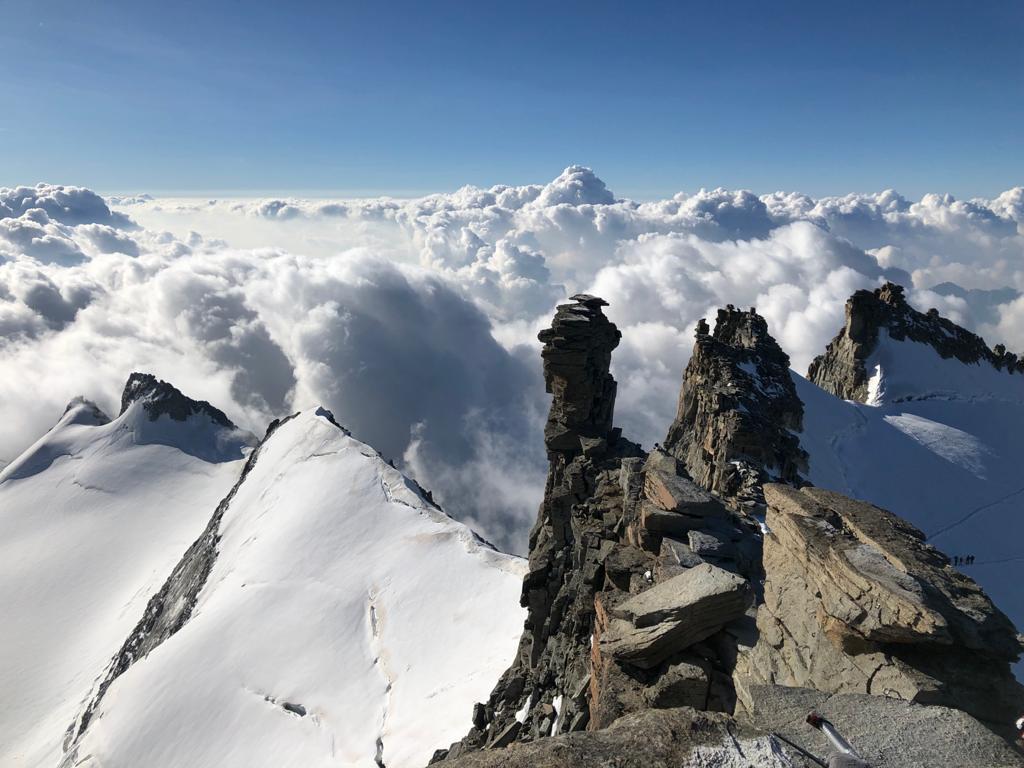 El paso a la cumbre