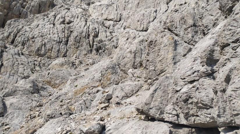 pasos de rocas