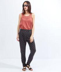 Jasmin pantalon imprimé Etam