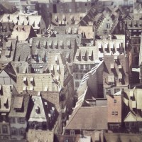 The roofs of Strasbourg