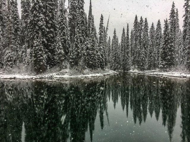 Yoho National Park Emerald Lake in The Canadian Rockies