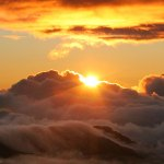 A visit to Hawaii must include the most famous dormant volcano at sunrise or sunset: Haleakala