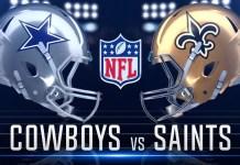 cowyboys vs saints