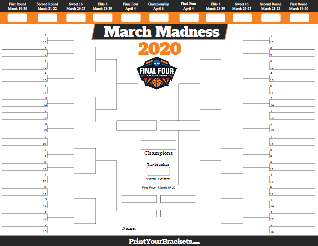 2020 Men's Basketball NCAA Tournament Betting Odds & Preview