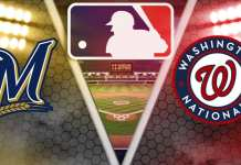 Milwaukee Brewers And Washington Nationals