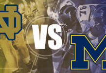 Notre Dame at Michigan