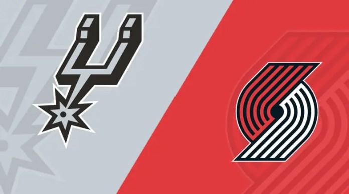 Portland Trailblazers vs San Antonio Spurs