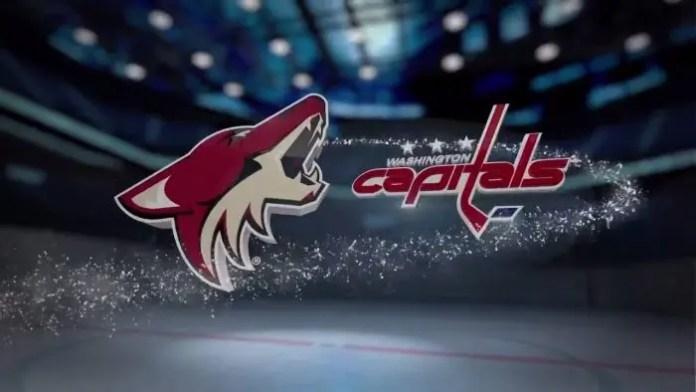 Arizona Coyotes vs. Washington Capitals