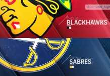 Buffalo Sabres at Chicago Blackhawks