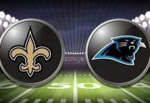 Carolina Panthers at New Orleans Saints