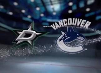 Dallas Stars at Vancouver Canucks
