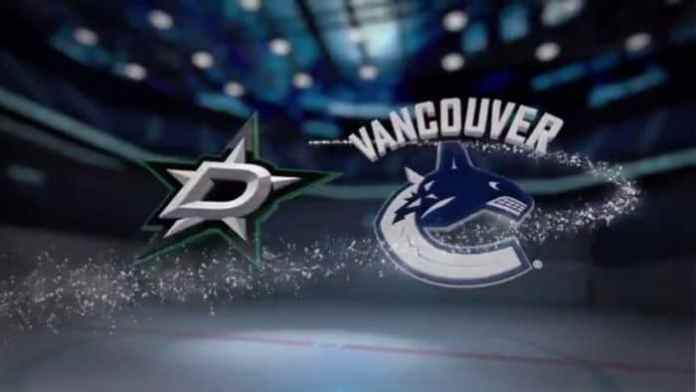 Dallas Stars at Vancouver Canucks
