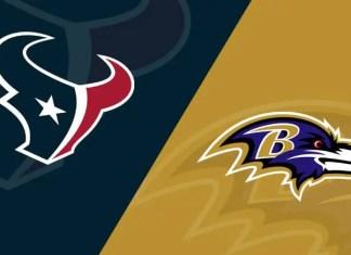 Houston Texans at Baltimore Ravens