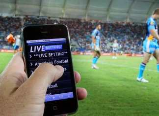 In-game sports betting