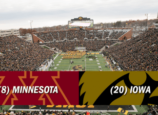 Minnesota at Iowa