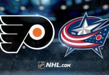 Philadelphia Flyers at Columbus Blue Jackets