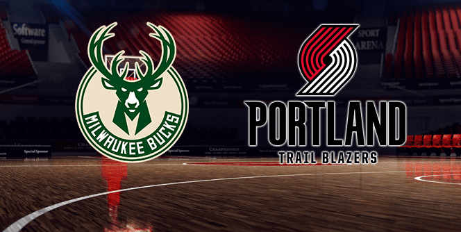 Portland Trail Blazers at Milwaukee Bucks